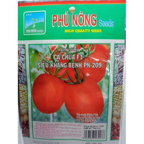Hạt giống cà chua F1 PN-209 Phú Nông