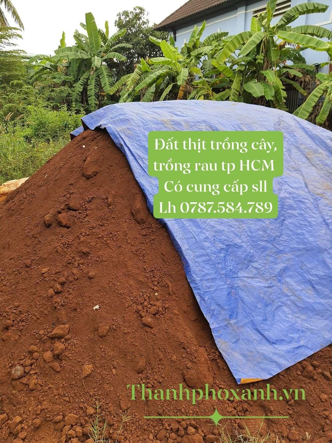 Mua bán đất thịt đất đỏ bazan trồng cây trồng rau trồng hoa  TP HCM
