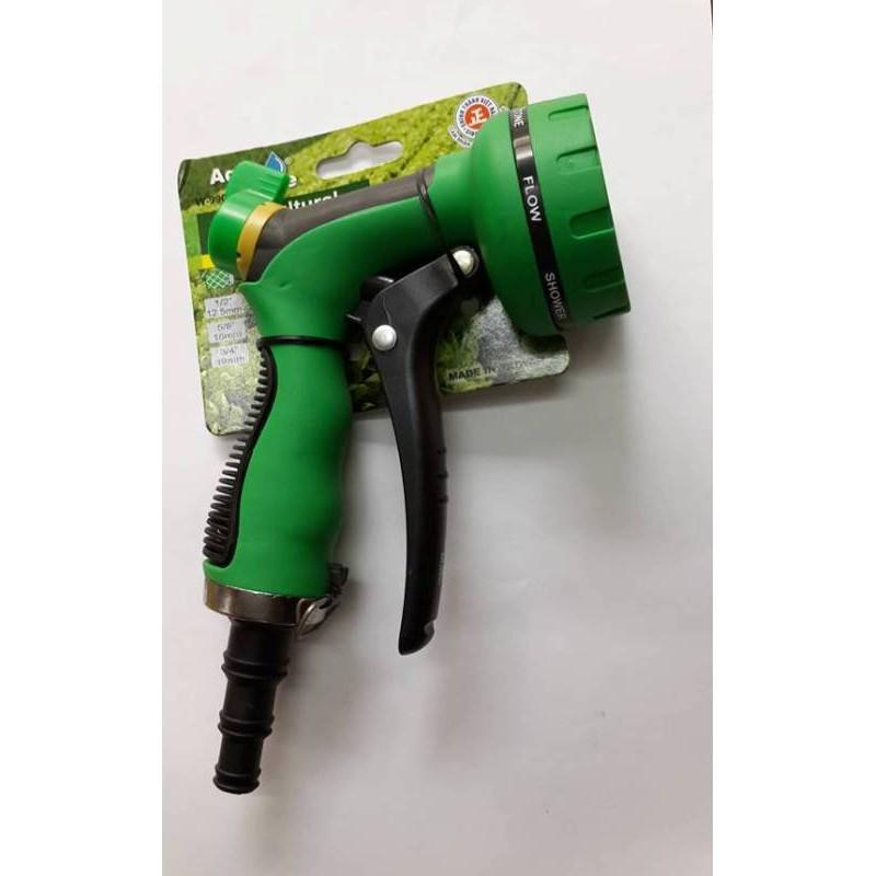Súng phun tưới - rửa đầu 7 kiểu có khóa nước AquaMate W-9902