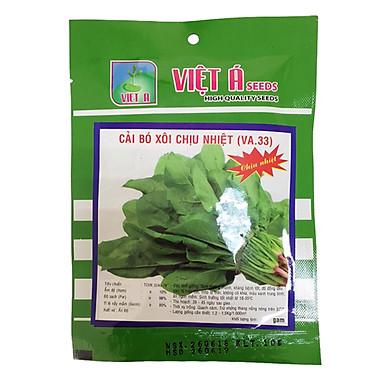 Hạt giống Việt Á: Cải bó xôi chịu nhiệt 20g